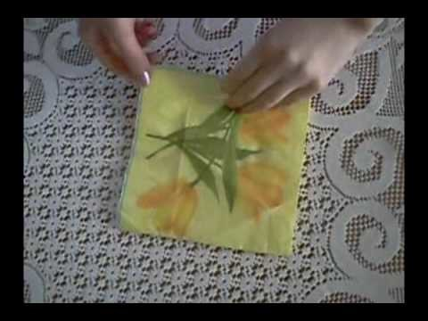 Lesson 1:  Napkin Folding Techniques: How to Fold a Star of KEMOnini in a Napkin