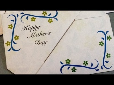 Mother's Day Gift Card Envelopes - Print at Home