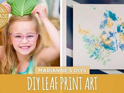 Mother's Day Leaf Prints - HGTV Handmade