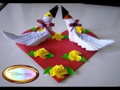 Origami Maniacs 79: 3D Origami Ducks