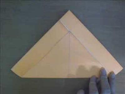 Origami triangle box