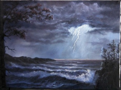Paint with Kevin Hill - Lightning Storm