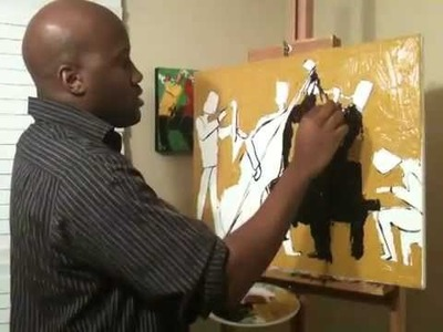 Painting Demonstration with Palette Knife Part 2