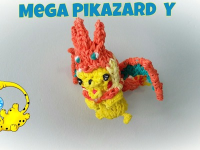 Rainbow Loom Pikazard Y Costume (Part 1.3)