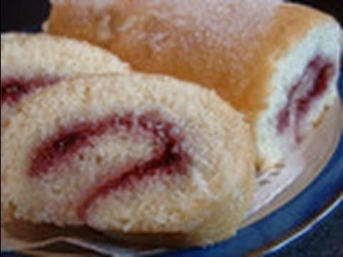 Sponge cake recipe - Swiss roll