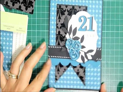 Thank Card It's Friday Stampin Up 21st Birthday