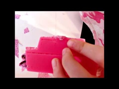 The Making of a Kanzashi Flower