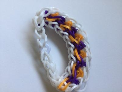 Twister Jump Bracelet (Rainbow Loom) Tutorial | Loom Bracelets, Loom Bands