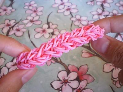 Valentine's Day DIY Rainbowloom Heart Bracelet