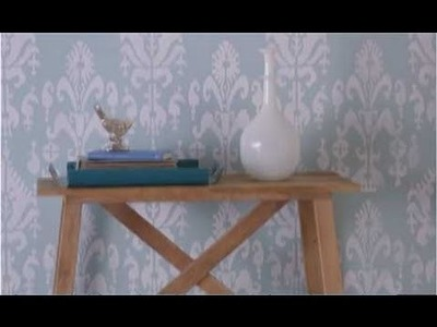 Wall Stencil Tips - How to Stencil