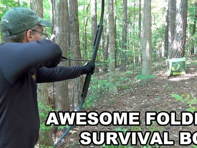 Awesome Folding Survival Bow! Primal Gear Unlimited's CFSB