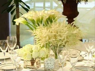 Calla Lily Wedding Bouqet Part 3.wmv