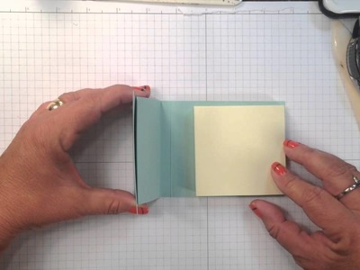Create a 3D Post It Note Holder