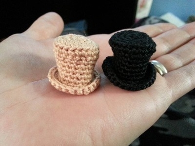 Crochet Mini Top Hat
