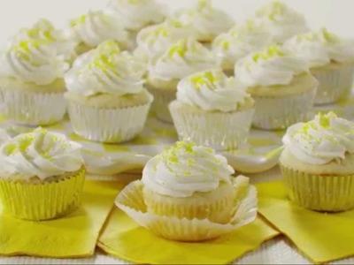 Cupcake Recipes - How to Make Lemon Cupcakes