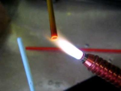 Devardi Op. Olive Mixed w. Moretti Red, Glass Lampwork Bead Making Tutorial