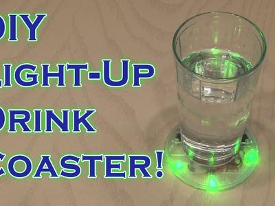DIY  Light-Up Coaster!