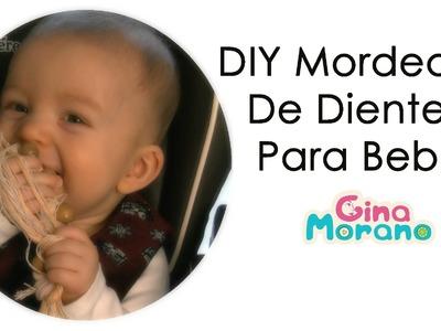 DIY Mordedor de Diente para Bebé Nursing.Teething