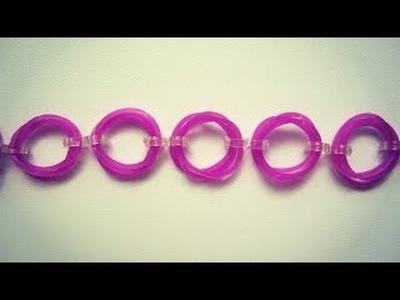 DIY Rainbow Loom Rubber bands Bracelet so easy