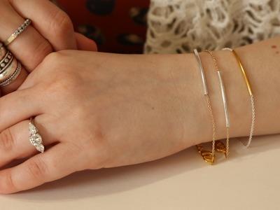 DIY Stackable Bracelets