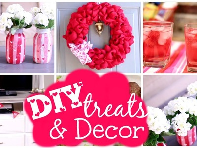DIY Valentine's Day Room Decor & Treats | Courtney Lundquist