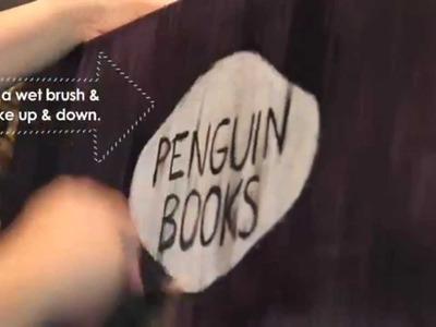 DIY: Vintage Penguin Books cover art