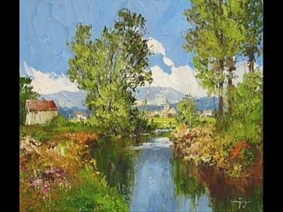 Erich Paulsen Original Art - The Art Shop, Inc.  www.artshopnc.com