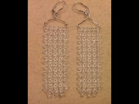 Glamour Earrings Tutorial