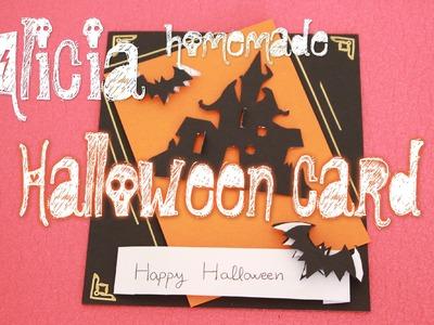 HALLOWEEN CARD #FELICITARE TUTORIAL (RO)- DIY