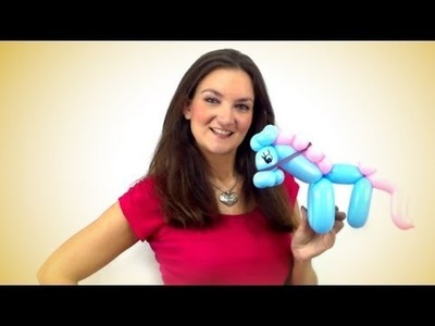 Horse Balloon Animal How To - Tutorial Tuesday!