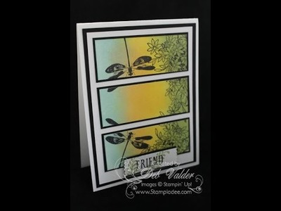 How to Create a Burnished Panel Card with Deb Valder