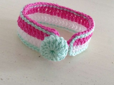How To Crochet Pretty Girls Bracelet - DIY Crafts Tutorial - Guidecentral