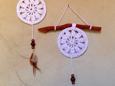 How To Crochet Sweet Twin Dreamcatchers - DIY Crafts Tutorial - Guidecentral