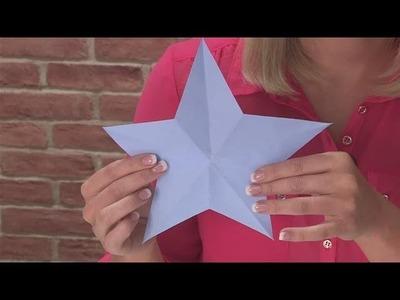 How To Fold A Star Shape