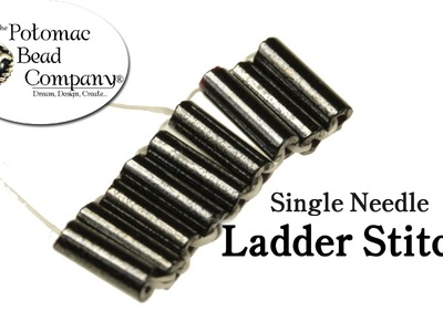 How to Ladder Stitch with One Needle