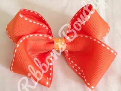 HOW TO: Make a Classic Boutique Style Bow