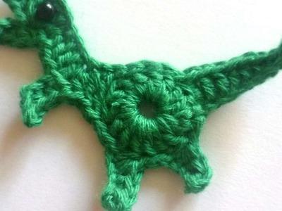 How To Make A Cute Crochet Dinosaur - DIY Crafts Tutorial - Guidecentral
