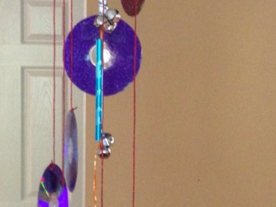 How To Make a Glittery CD Wind Chime - DIY Home Tutorial - Guidecentral