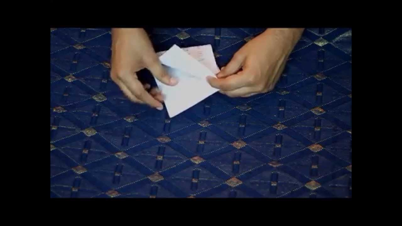 How to make a simple paper boat