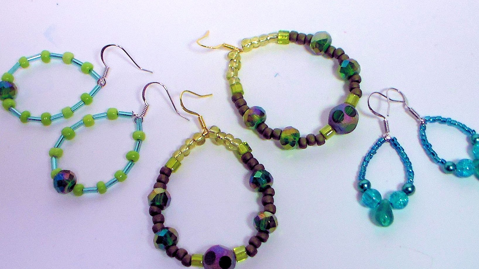 How To Make Continuous Loop Earrings