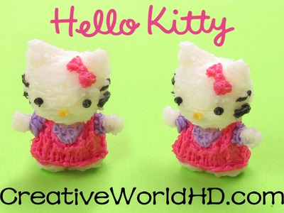 How to Make Hello Kitty Figurine - 3D Printing Pen Creations.Scribbler DIY Tutorial