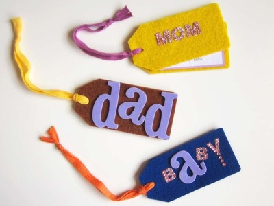 How To Make Luggage Tags With Felt - DIY Style Tutorial - Guidecentral