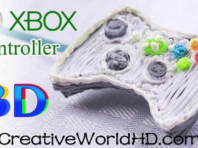 How to Make XBox Controller - 3D Printing Pen.3Doodler 2.0 DIY Tutorial by Creative World