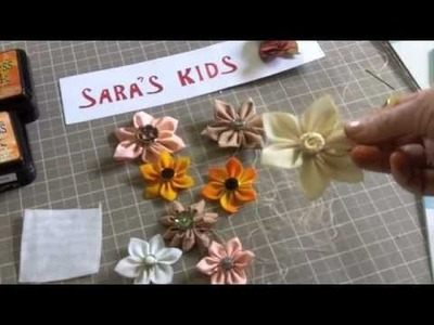 Kanzashi Cloth Flowers