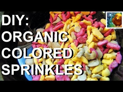 Make Your Own All Natural Colored Candy Sprinkles | DIY