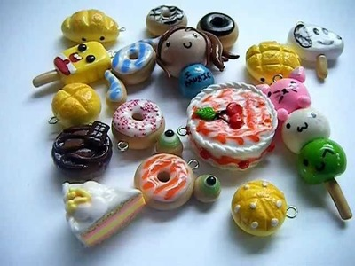 My Clay Charms!