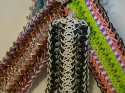 NEW!!  Prelude Bracelet on the Rainbow Loom 3 Looms