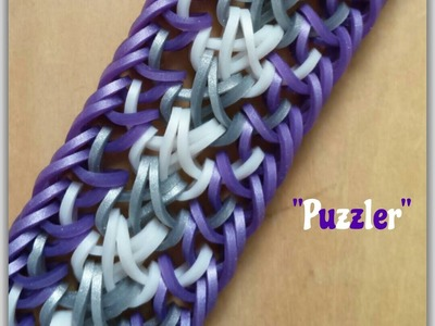 "New ""Puzzler"" Hook Only Bracelet.How To Tutorial"