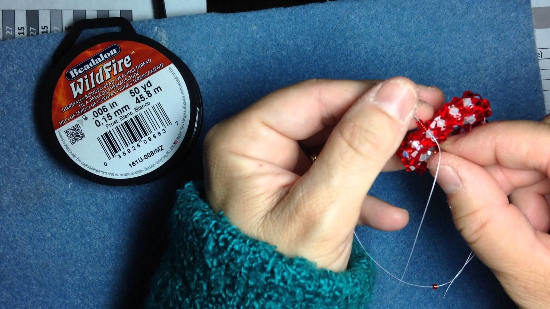 Part 2  Swarovski crystal open heart pendant seed bead bale