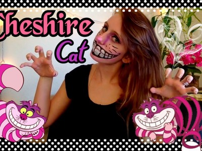 Say Cheese Like A Cheshire Cat! - Halloween Face Painting DIY tutorial  | Minxy May